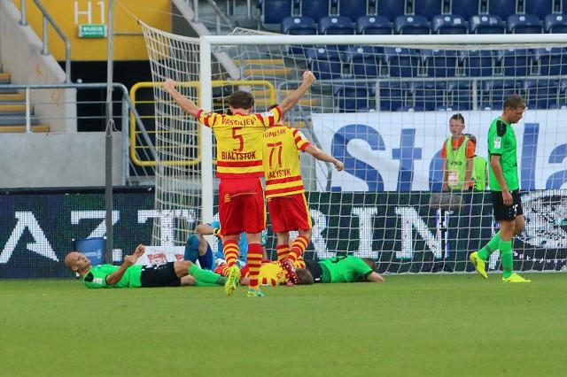 W pierwszej rundzie Jagiellonia pokonała Górnika Łęczna 2:0