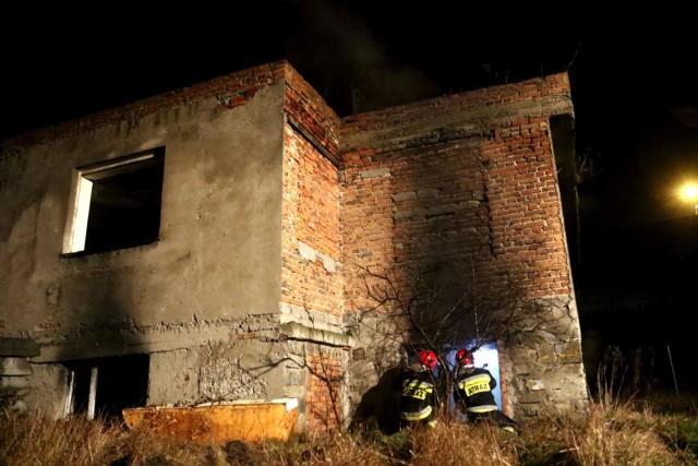 Pożar wybuchł po godz. 23 w sobotę, 4 maja.