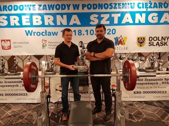 Daniel Utratny i trener Marcin Laśkiewicz wzięli udział w prestiżowych zawodach