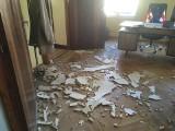 Krok od tragedii. W gabinecie wiceburmistrza Świebodzina zawalił się sufit