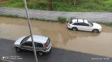 Kraków. Fatalna sytuacja osiedla na Klinach, co deszcz, to zalane ulice i garaże [ZDJĘCIA]