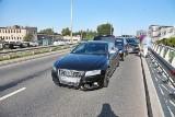 Wypadek 4 aut i potężne korki na zachodzie Wrocławia (ZDJĘCIA)