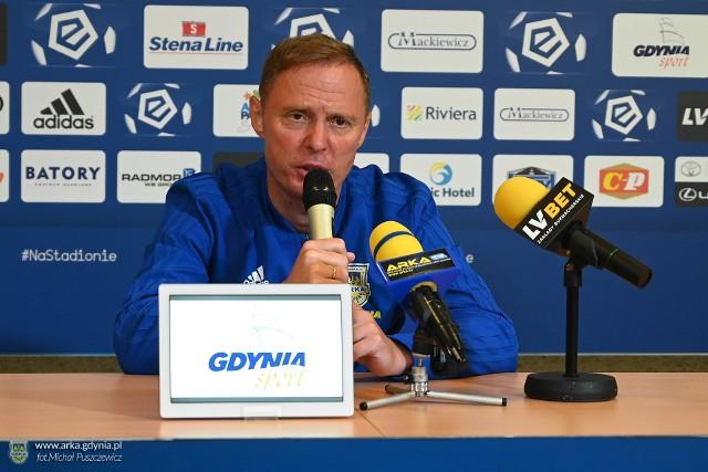 Ireneusz Mamrot 10 maja 2020 roku podpisał dwuletni kontrakt z Arką Gdynia