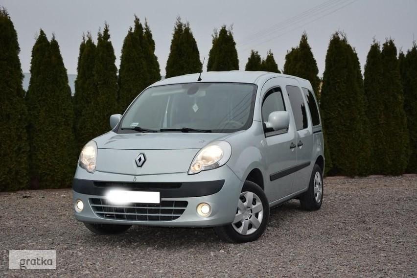 1. Renault Kangoo - Średni przebieg w kilometrach 116 000,...