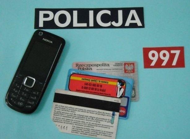 Policjanci szybko odzyskali skradzione przedmioty