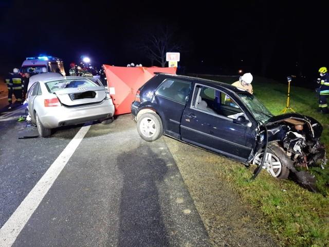 Śmiertelny wypadek na DK91 w Jeleniu