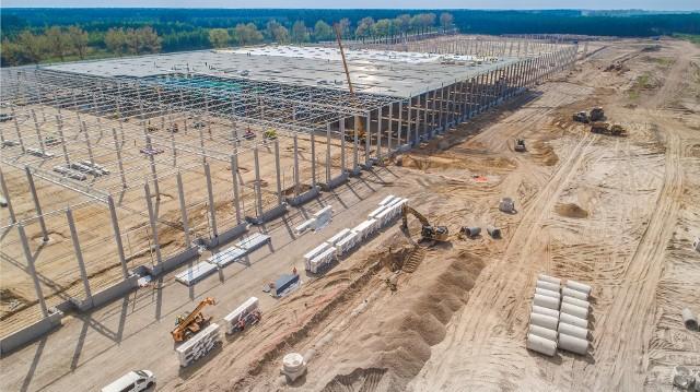 W gminie Przytoczna powstaje nowe centrum logistyczne.