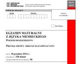 Próbna matura 2014/2015 z CKE - język niemiecki (p. rozszerzony) [ARKUSZE, ODPOWIEDZI]