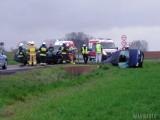 Opolskie. Wypadek na DK41 w Niemysłowicach na trasie Prudnik-Nysa. Są ciężko ranni, jedna osoba nie żyje [ZDJĘCIA]