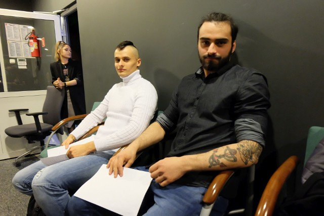 Tak wyglądał casting na Mistera Podlasia 2020 w redakcji Kuriera Porannego i Gazety Współczesnej