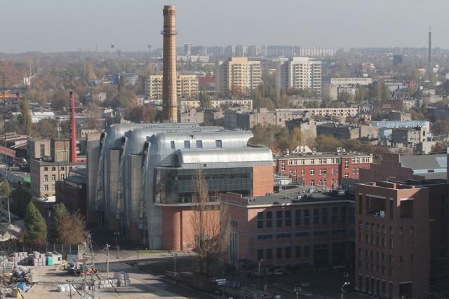 W Łodzi trwa m.in. rewitalizacja budynków zabytkowej elektrociepłowni EC1