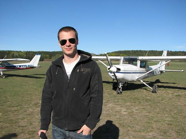 Marcin Chrząszcz z Wrocławia, wicemistrz Polski juniorów, zająłby w grudziądzkich zawodach 2. miejsce, gdyby nie zawiódł rejestrator lotu