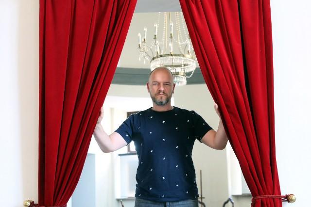 Aktor, reżyser, a od miesiąca dyrektor Teatru im. J. Osterwy w Lublinie - Redbad Klynstra-Komarnicki