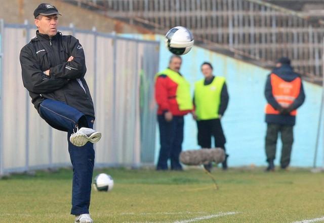 Trener Marek Chojnacki w czwartek rozstał się z ŁKS.