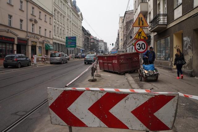 Przebudowa Kościuszki w Katowicach. Zmiana organizacji ruchu na Szeligiewicza