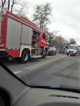 Poważny wypadek samochodowy w Kobylnicy