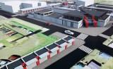 Nowa hala targowiska Dolna-Ceglana będzie gotowa w maju