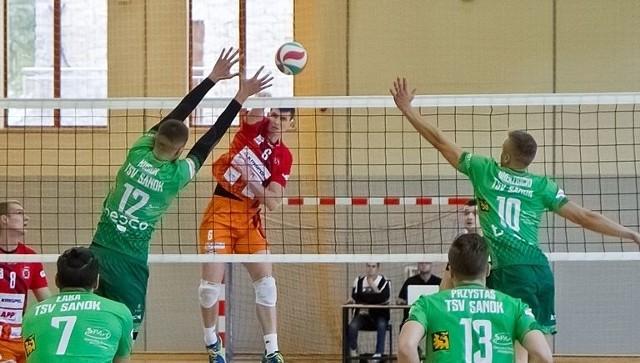 TSV Sanok przegrał w tym sezonie z Krispolem Września dwukrotnie po 0:3.