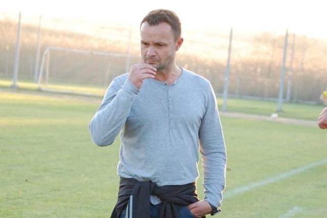 Marek Kramarz, trener Jedności Niechobrz