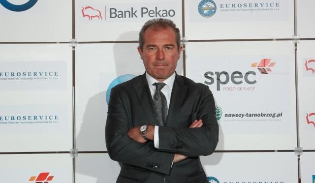 Marek Koźmiński jest w ostatnich latach stałych bywalcem gali piłkarskiej Podkarpackiego Związku Piłki Nożnej.