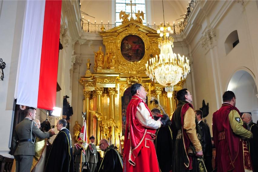 Święto Niepodległości 2015. Msza za Ojczyznę w kościele św....