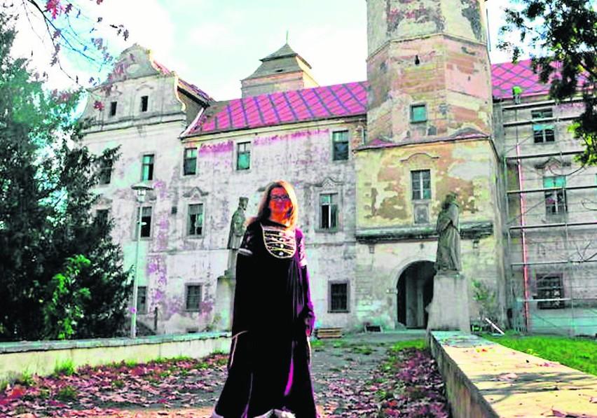 - Liczymy, że głosowanie spopularyzuje nasz zamek - mówi Joanna Kardasińska.