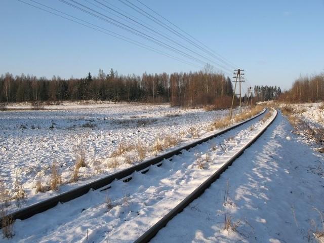 Na torze kolejowym prowadzącym z Białegostoku w kierunku Łap pękła szyna