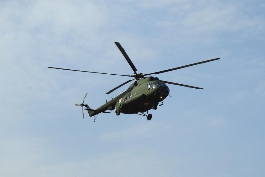 Na Krywlanach pojawiły się śmigłowce Mi-8 które przez cały...