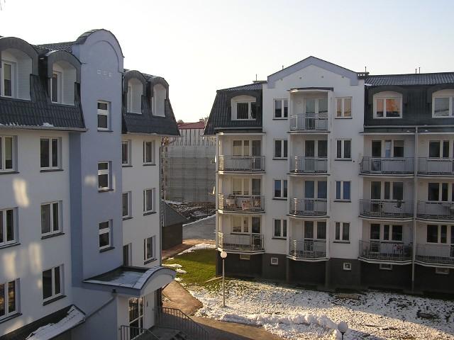 Nowe bloki staną przy ul. Grunwaldzkiej 64-66Nowe bloki staną przy ul. Grunwaldzkiej 64-66