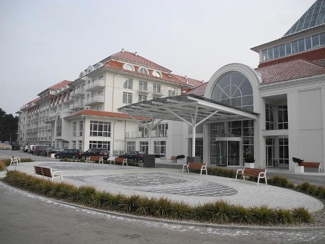 Hotel Grand Lubicz w Ustce.