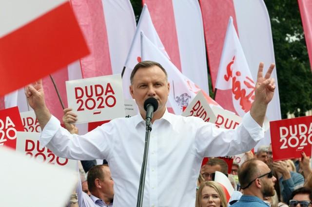 Andrzej Duda wygrywa pierwszą turę wyborów w Polsce, na Lubelszczyźnie i w samym Lublinie