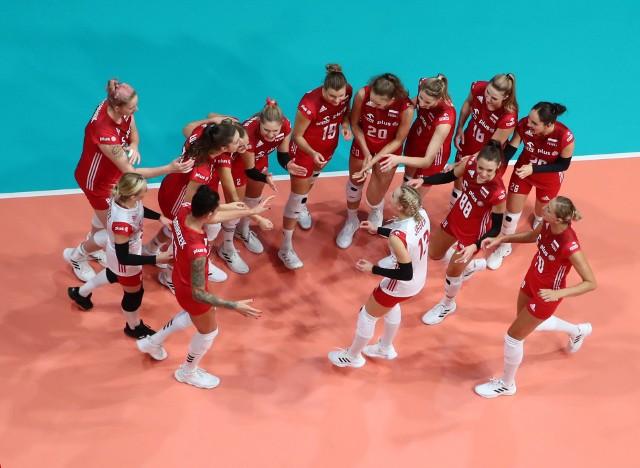 Mecz Polska - Grecja na mistrzostwach Europy siatkarek 2021 w bułgarskim Płowdiw