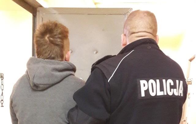 29-latek został zatrzymany przez policję