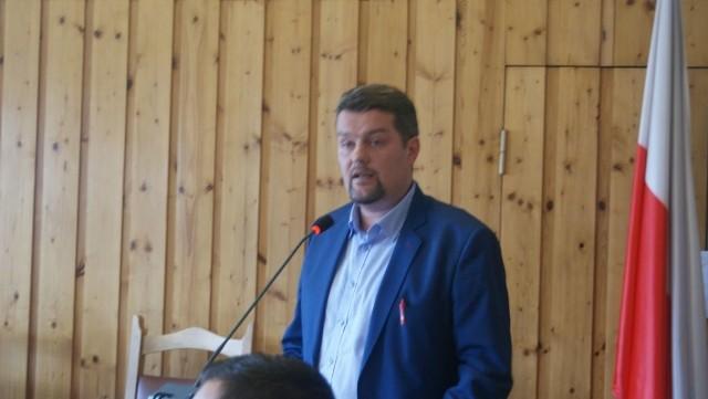 Adam Domiński, doradca burmistrz Czerska