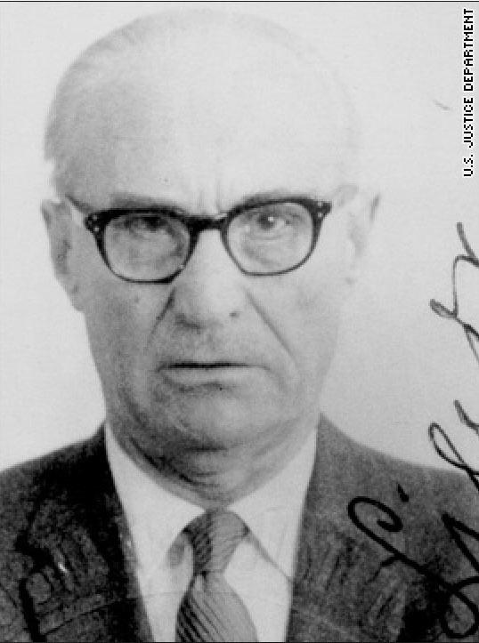 Aleksandras Lileikis - jeden ze zbrodniarzy wojennych zrekrutowanych przez CIA. Odpowiadał za śmierć 60 tys. Żydów