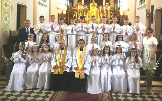 Pierwsza Komunia Święta w Czarni, 27.06.2020