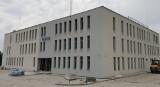 Kończy się budowa nowej Komendy Powiatowej Policji w Krapkowicach [ZDJĘCIA]