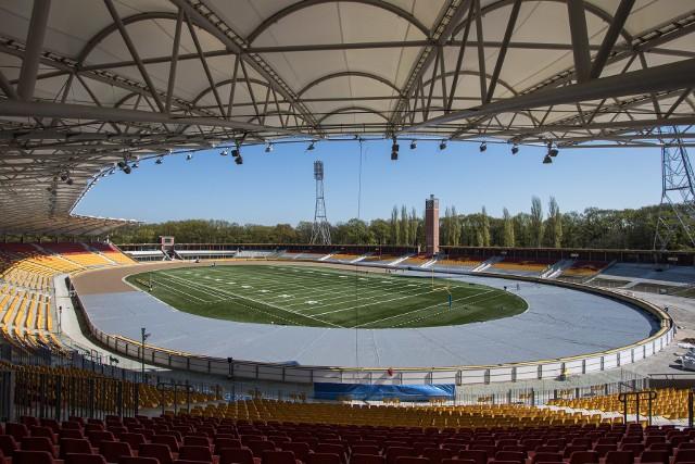 W trakcie przebudowy Stadionu Olimpijskiego zmodernizowano również system odwadniania toru