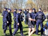 Białystok. Policja znów przerwała trening, tym razem w parku przy Kręgu. Posypały się kolejne wnioski do sądów i mandaty [ZDJĘCIA]