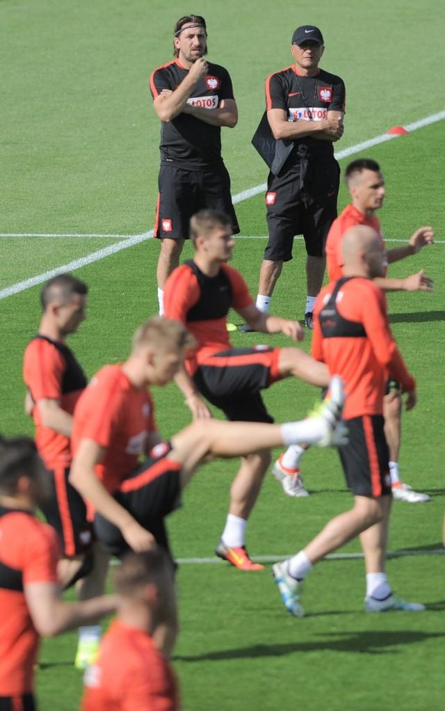 Tomasz Iwan często bierze udział w treningach reprezentacji Polski