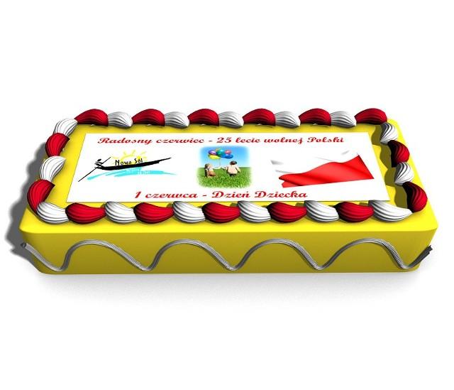 30-kilogramowy tort będzie czekać na dzieci w niedzielę w Parku Krasnala.