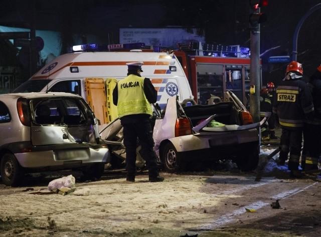 Tragedia rozegrała się na skrzyżowaniu ulicy Wasilkowskiej i Traugutta.
