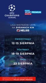 """Transmisje Ligi Mistrzów znów goszczą na ekranach bydgoskiego """"Heliosa"""". Od 12 sierpnia szykujcie się na emocje!"""