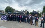 W sobotę na Placu Artystów w Kielcach Prawo i Sprawiedliwość przedstawiło program Polski Ład [ZDJĘCIA]