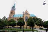 Trwają prace remontowe na wieży bazyliki archikatedralnej w Łodzi