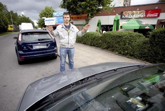 """– Zatrzymanie pijanego kierowcy było naszym obowiązkiem. Przecież on mógł zrobić komuś krzywdę – mówi Krzysztof Kalinowski, jeden z dwóch uczniów słupskiego """"rolniczaka"""", którzy nia zawahali się powstrzymać pijanego kierowcę."""