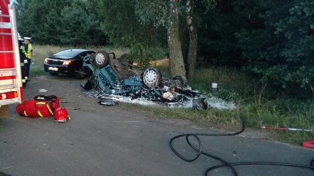 Kierowca zmarł na skutek odniesionych obrażeń.
