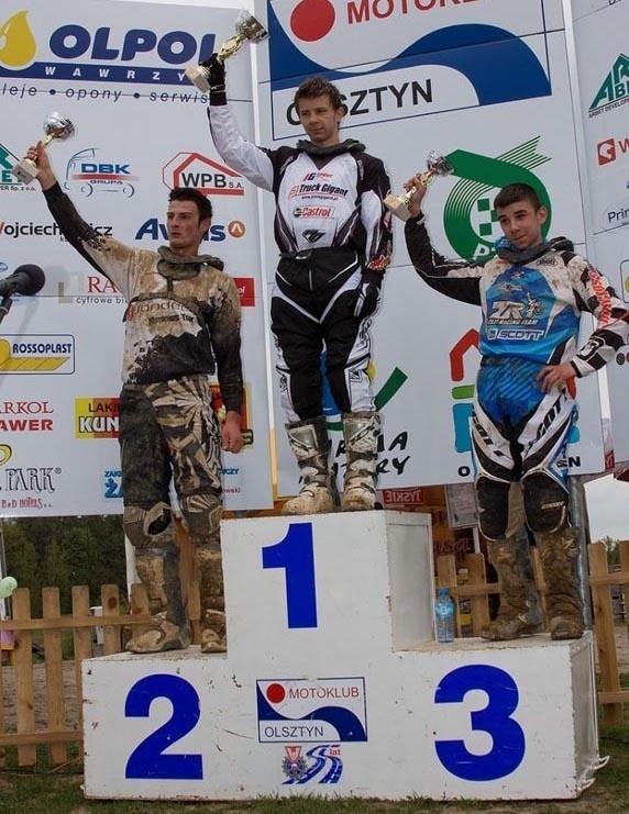 Patryk Galica staną na drugim stopniu podium.