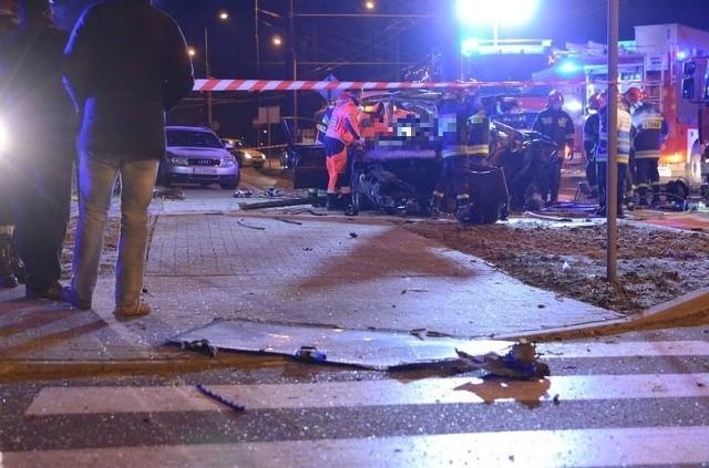 Wypadek na ul. Diamentowej w Lublinie