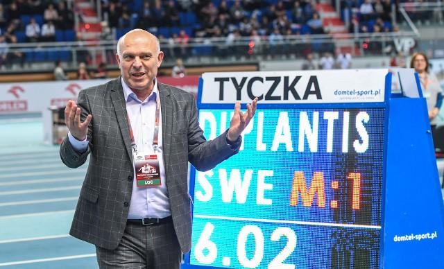 Dyrektor mityngu Copernicus Cup Krzysztof Wolsztyński liczy, że w Arenie Toruń znów padnie rekord świata